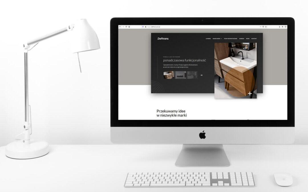Zmiany w Deftrans – rebranding i nowa strona internetowa